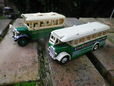 DAYS GONE by LLedo lot 2 BUS 1930 EUROTOUR et SOUTHERN VECTIS comme neuf