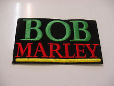 "set of 4 BOB MARLEY EMBROIDERED -IRON ON/ SEW ON  PATCH-new -3.25"" x 2"" style# b"