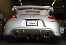 Beluga racing High Performance Axle Back Exhaust for 370Z NISMO 09 -17