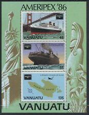 VANUATU - 1986 'AMERIPEX '86' Miniature Sheet MNH SG437 [C1920]