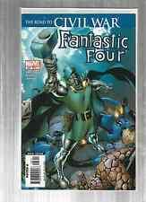 Fantastic Four 537-543  CIVIL WAR SET!!  EXCELLENT COPIES!