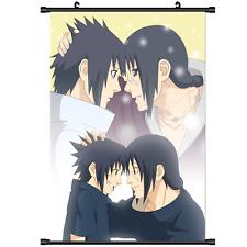 Anime Naruto Uchiha Sasuke Itachi home decor Wall Scroll Poster cosplay 2719
