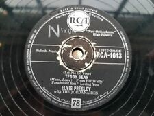 Elvis Presley - Let me be your teddy bear/ Loving you Schellack 78 rpm