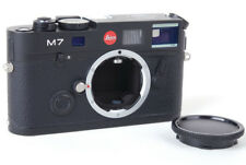 Ex+ Leica M7 0.85 Black Camera Body w/ Cap + Shutter Button Made in Germany