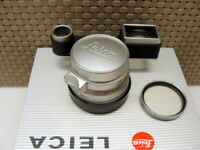 """Leica 11108 - Leitz Summicron-M 1:2/35mm 8-Linser 1963 """"SAMWO M3"""" - RAR!"""