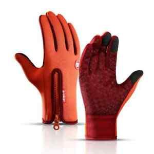 Winter Touch Screen Warm Outdoor Driving Waterproof Windproof Men Women Gloves