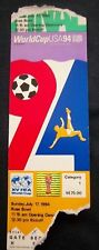 Orig.Ticket   World Cup USA 1994  FINAL  BRASIL - ITALY  !!  EXTREM RARE
