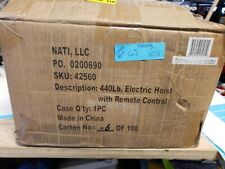 Max Load 440 lb Electric Hoist with Remote Control(6J.103)