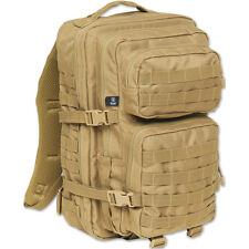 BRANDIT US ARMY COOPER MODULAR RUCKSACK LARGE MOLLE ARMY COMBAT BACKPACK CAMEL