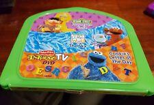 Fisher Price Ernie Cookie Monster Elmos World Interac TV - DVD GAME - FREE POST