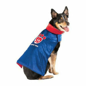 NEW SUPERDOG Halloween Dog Costume from Target - Red/White/Blue Cape