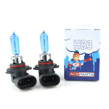 Toyota Previa HB3 65w Super White Xenon HID High Main Beam Headlight Bulbs Pair