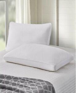 Scott Living SET OF 2 STANDARD Jumbo Pillows Feather & Down Side Sleeper A0Z317