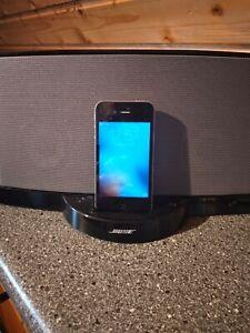Bose SoundDock 10 digital Music System mit Fernbedienung und Apple IPhone 4s