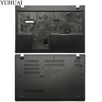 NEW FOR Lenovo ThinkPad L580 Bottom Case Cover  Upper Case Palmrest Cover