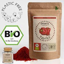 250g Bio Paprika edelsüß Paprikapulver rot gemahlen Paprika Gewürz + Gewürzglas