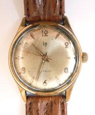 Montre bracelet pour homme LIP Incabloc ancienne mécanique watch fonctionne