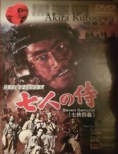 Seven Samurai (Asia Release) Dvd Akira Kurosawa