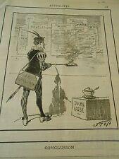 Typo 1890 Conclusion Sucre Cassé Affiches
