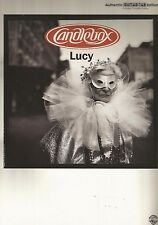"""""""Candlebox-Lucy"""" ; Authentic Guitar-Tab Edition Music Book-Brand New Sale Songbook"""
