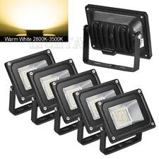 5X 20W Warm White LED Flood Light Outdoor Landscape Garden Spot Lamp IP65 AC110V
