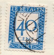 Holland 1930 Early Issue Fine Used 40c. 129802