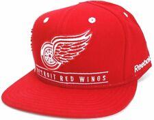 Detroit Red Wings Reebok NF92Z NHL Team Logo Snapback Hockey Cap Hat  OSFM