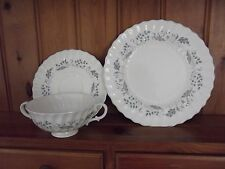 "Royal Doulton ""Glen Auldyn"" tazza zuppa e piattino E PIASTRA LATERALE"