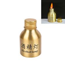 1pc portable mini 50ml alcohol burner lamp metal case lab equipment heating W PL