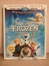 Frozen ( Blu-ray, DVD) with Slipcover Authentic Disney