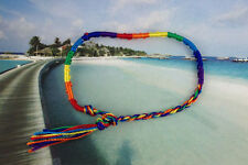 12PCS Rainbow Friendship bracelets /Angklets #20871