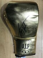 Larry Holmes hand signed boxing glove world champion RARE COA