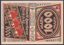 Bielefeld, Inflation, Notgeld 1000 Mark, 21.11.1922, tadellos kassenfrisch