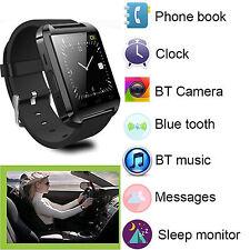 Bluetooth Wrist Smart Watch For Samsung Galaxy S8 Plus S7 Edge S6 Note 5 US Ship