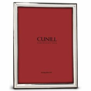 Cunill Sterling Silver Narrow Plain Frame