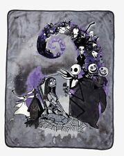 Nightmare Before Christmas Jack Sally Oogie Zero Lock Shock Fleece Blanket Throw