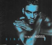Ginuwine (CD2) - Tell Me Do U Wanna (1997 CD Single)