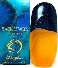 REVILLON TURBULENCES PARFUM DE TOILETTE Spray 3.3 Oz /100ml SLIGHTLY USED ITEM !