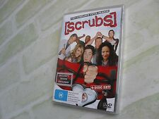 SCRUBS - THE COMPLETE FIFTH SEASON - REGION 4 PAL - 4 DISC DVD - NEW SEALED