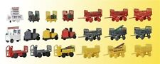 Kibri 38646 Decode Set Gepaeckwagen, Kit, H0