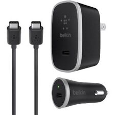 BELKIN WALL+CAR CHARGER KIT USB-C Tyep 15W 3 in 1 5W For S8+S9