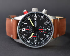 ASTROAVIA XL AIR CRAFT NR.9L-2 MILITARY CHRONOGRAPH FLIEGERUHR SPEZIAL EDITION
