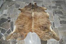 """NEW Cowhide Rug HAIR ON SKIN  Leather cowhide  984-  79"""" x 74"""""""