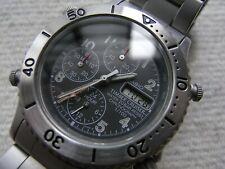 RARE CASIO TIMBER CRUISER chronograph TIC-104