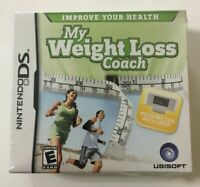 My Weight Loss Coach With Pedometer Nintendo DS Brand New
