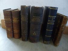 ANCIENS LIVRES 1861 1882 1900 1901 1912 ARCHEOLOGIE MEUBLES ARTS METIERS HISTOIR