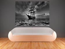 Barco Pirata de impresión de arte de pared imagen Poster Gigante Enorme