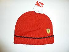 Ferrari Cappellino Cappello Cuffia Beanie Puma invernale F1 Cap hat