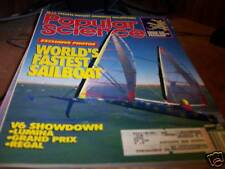 Popular Science 1/1991 World's Fastest Sailboat