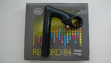 Vintage NOS Classic 80's 3ttt Record 84  Black Quill Stem 90mm Boxed Mint